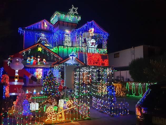 Christmas lights Coburg