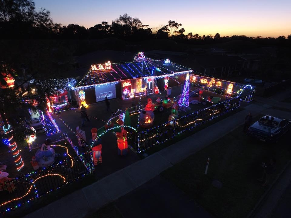 Christmas Lights Bittern 2020