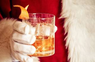 Cocktails with Santa