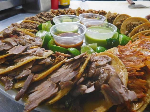 Rosca de tacos. Tacos Manolo