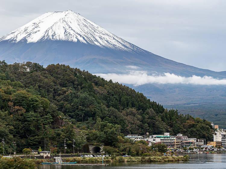 Lake Kawaguchiko, Yamanashi prefecture