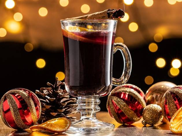 mulled wine at Covent Garden festival