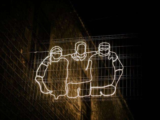 Il·luminació solidària al Raval
