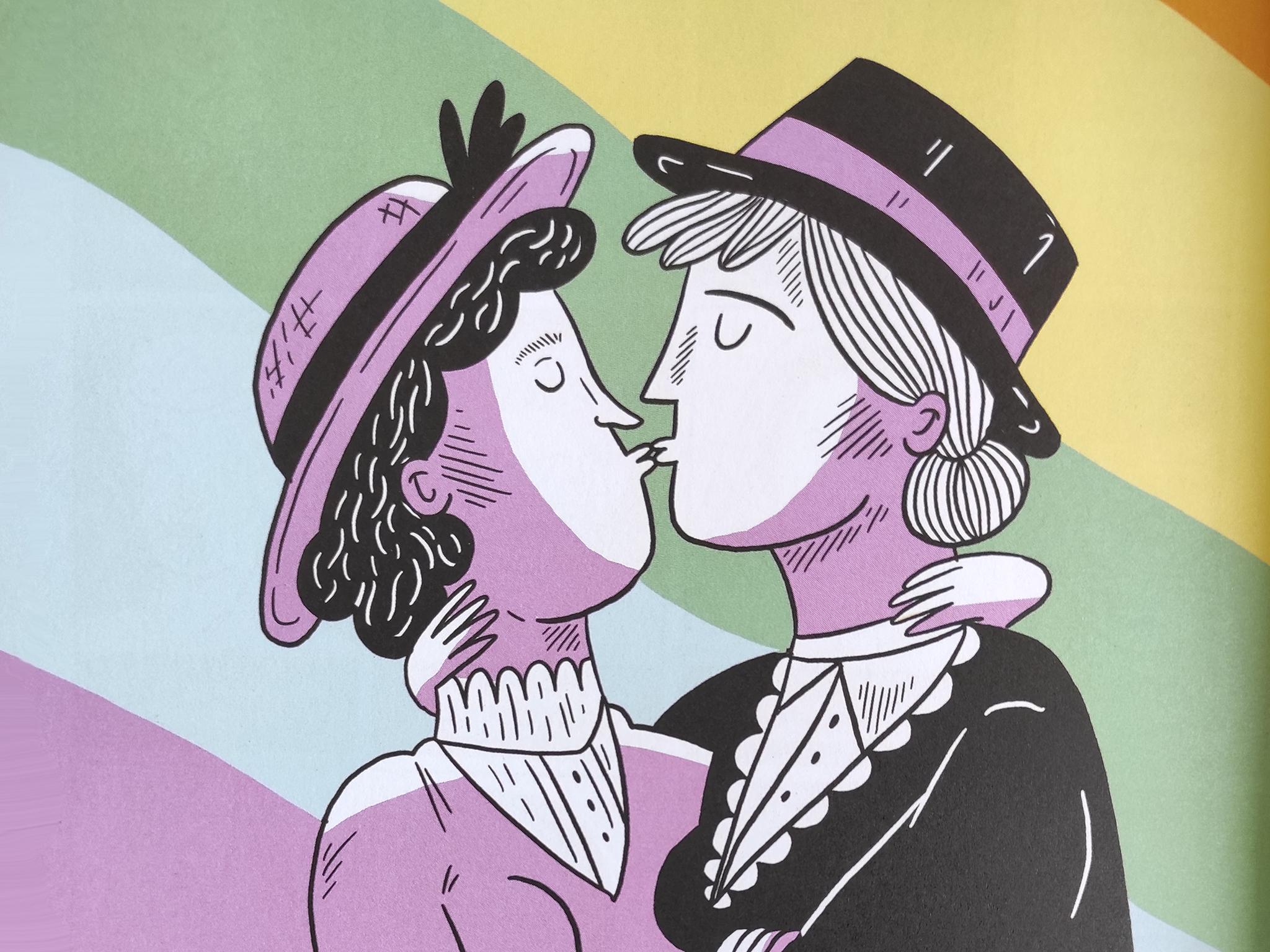 Livro, LGBT, Mulheres sem medo, Marta Breen e Jenny Jordahl