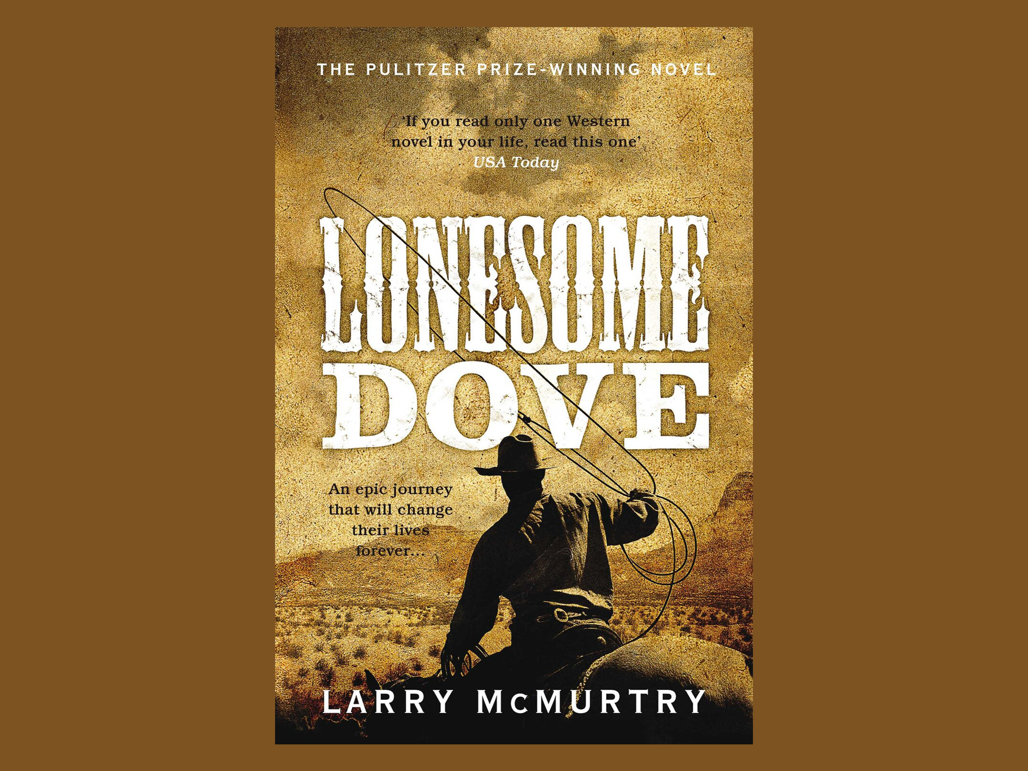 Best books: 'Lonesome Dove' by Larry McMurtry