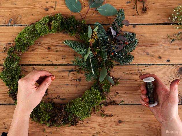 Botanique wreath