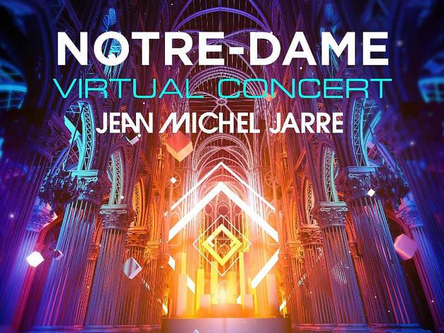 Jean-Michel Jarre at Notre-Dame