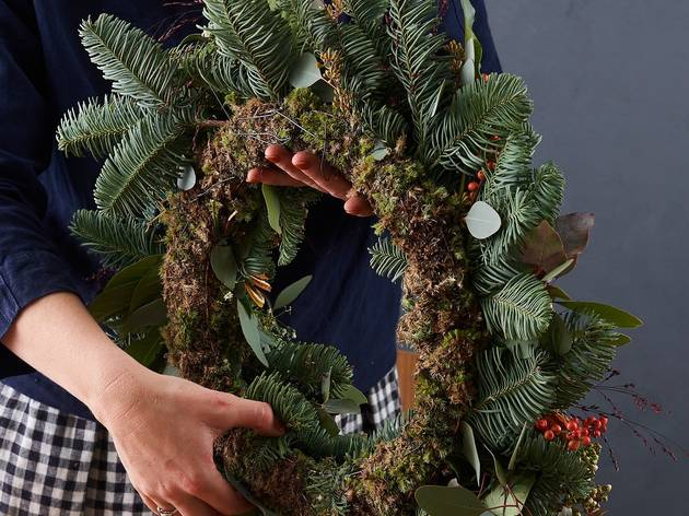 DIY Christmas wreath kits to have delivered