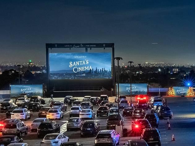 Level 8 Drive-In Santa's Cinema at the Grove