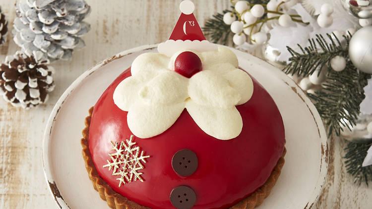 Santa Berry Tiramisu cake, Ginza Mitsukoshi, Christmas cake