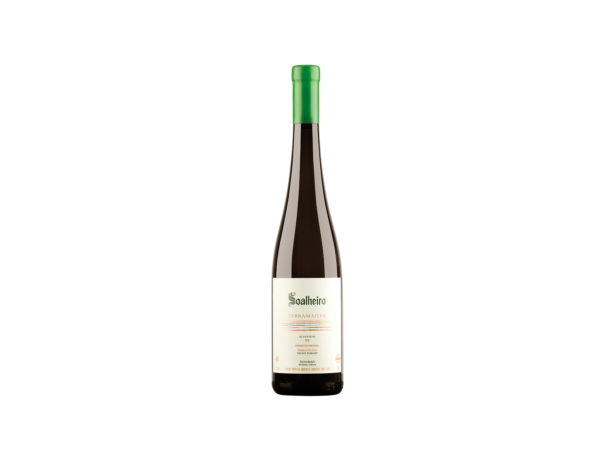 Vinhos, Soalheiro Terramatter Branco 2019, Vinho Verde – Monção e Melgaço