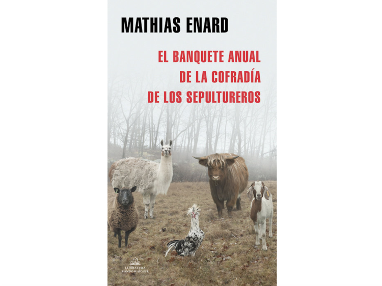 'El banquete anual de la cofradía de sepultureros', de Mathias Enard