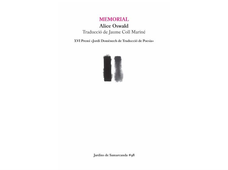 'Memorial', de Alice Oswald