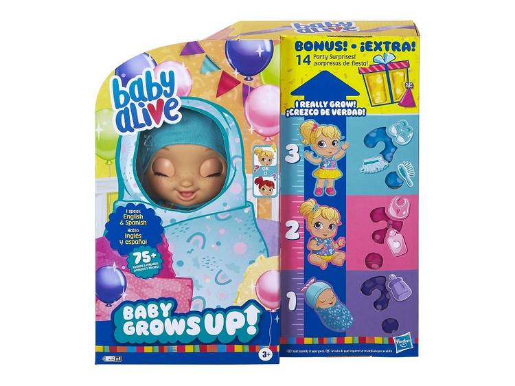 Baby Alive Gows Up