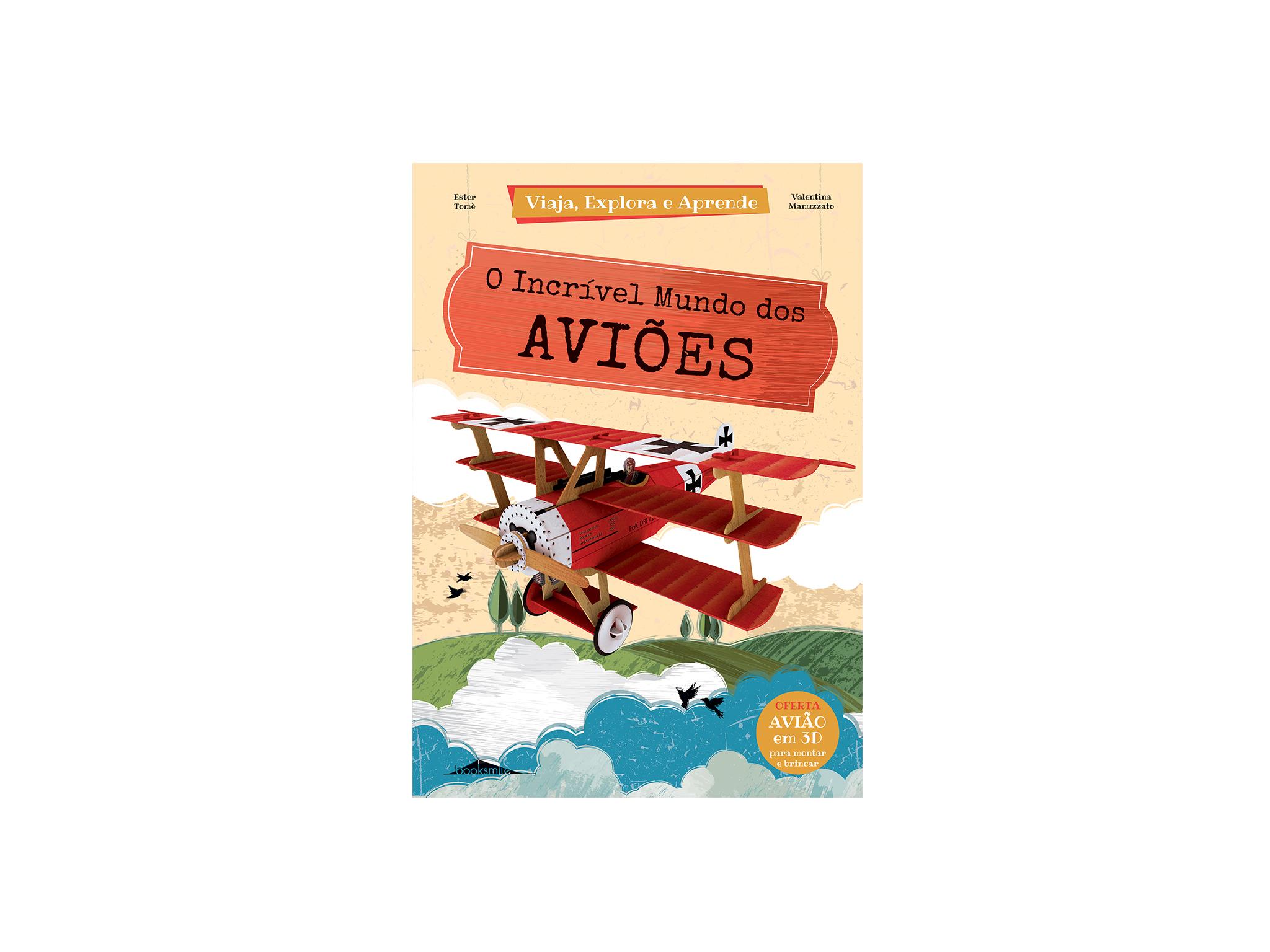 Livro, Shopping Natal 2020, O Incrível Mundo dos Aviões