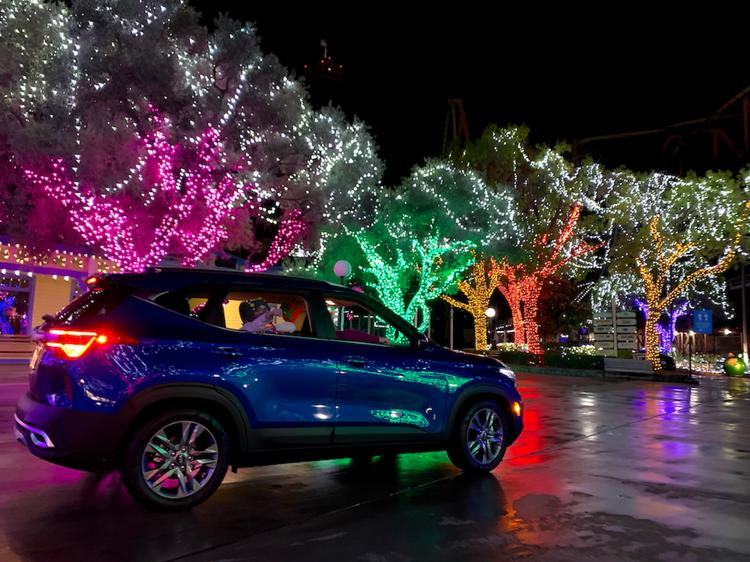 The coolest drive-thru Christmas lights near NYC