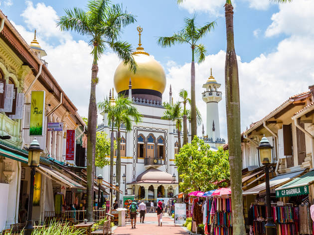 Kampong Glam, Sultan Mosque