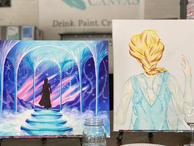 Fan art inspired by Frozen