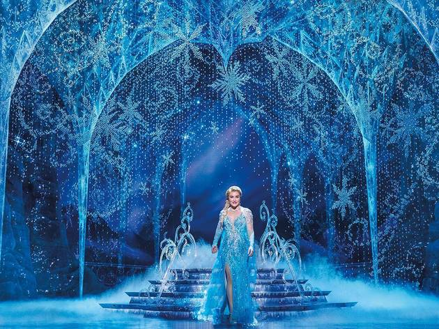 Jemma Rix as Elsa in Frozen the Musical