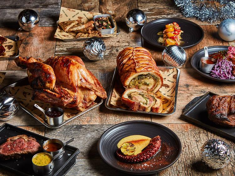Meats: Festive brunch