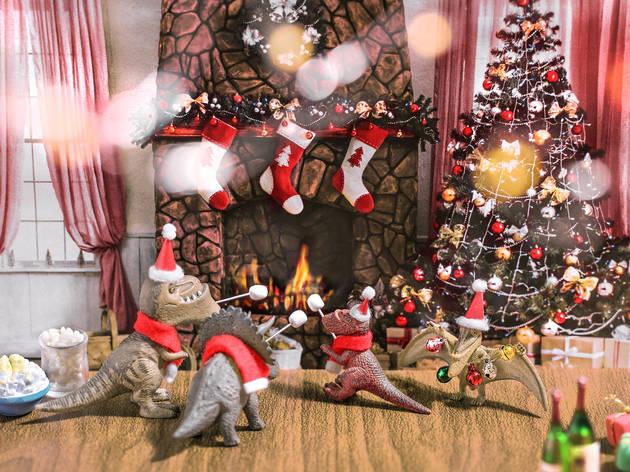 Santa Claws Xmas Party at Mira Place