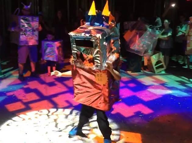Virtual Robot House Party with DJ Kid Koala