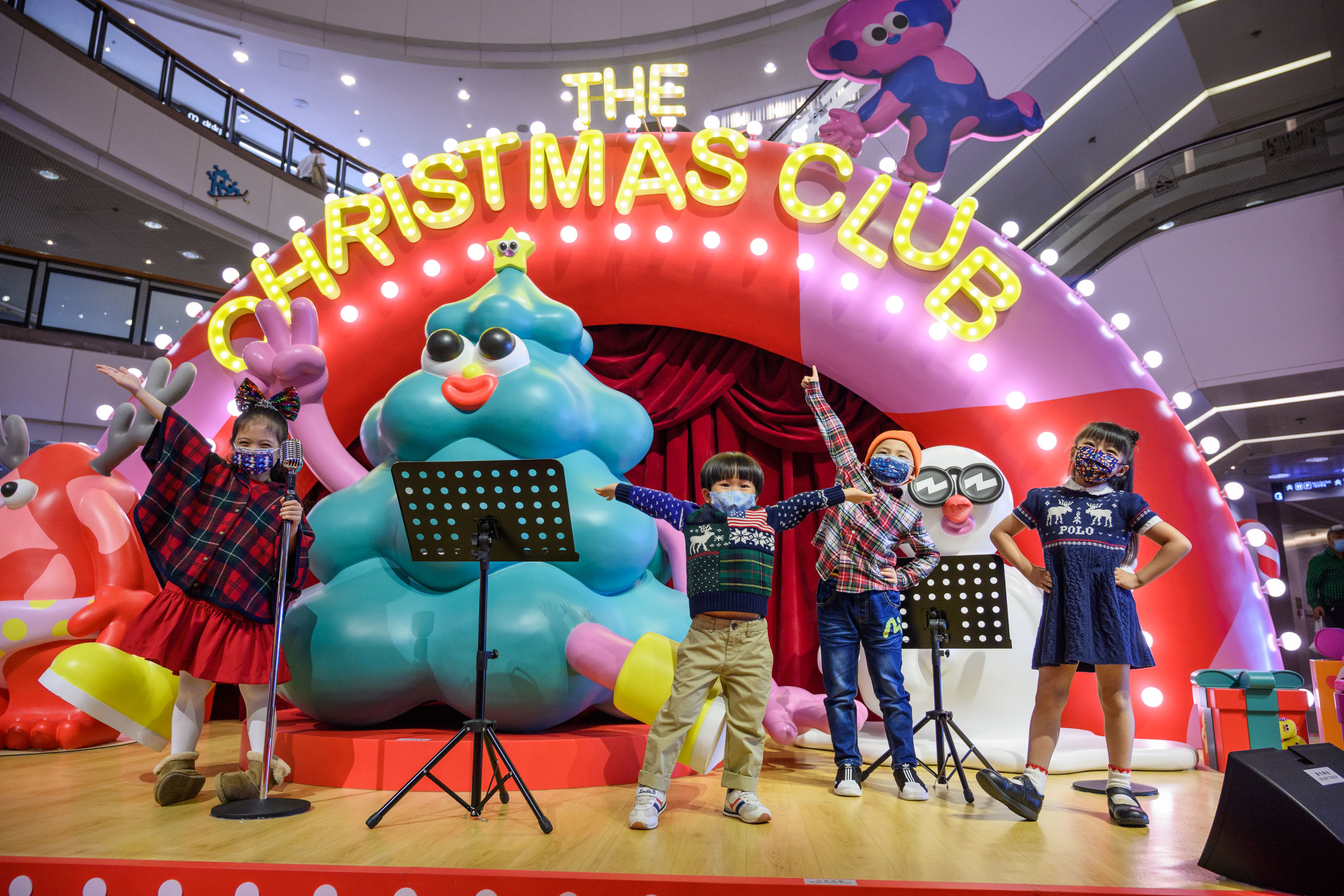 The Christmas Club at Harbour City