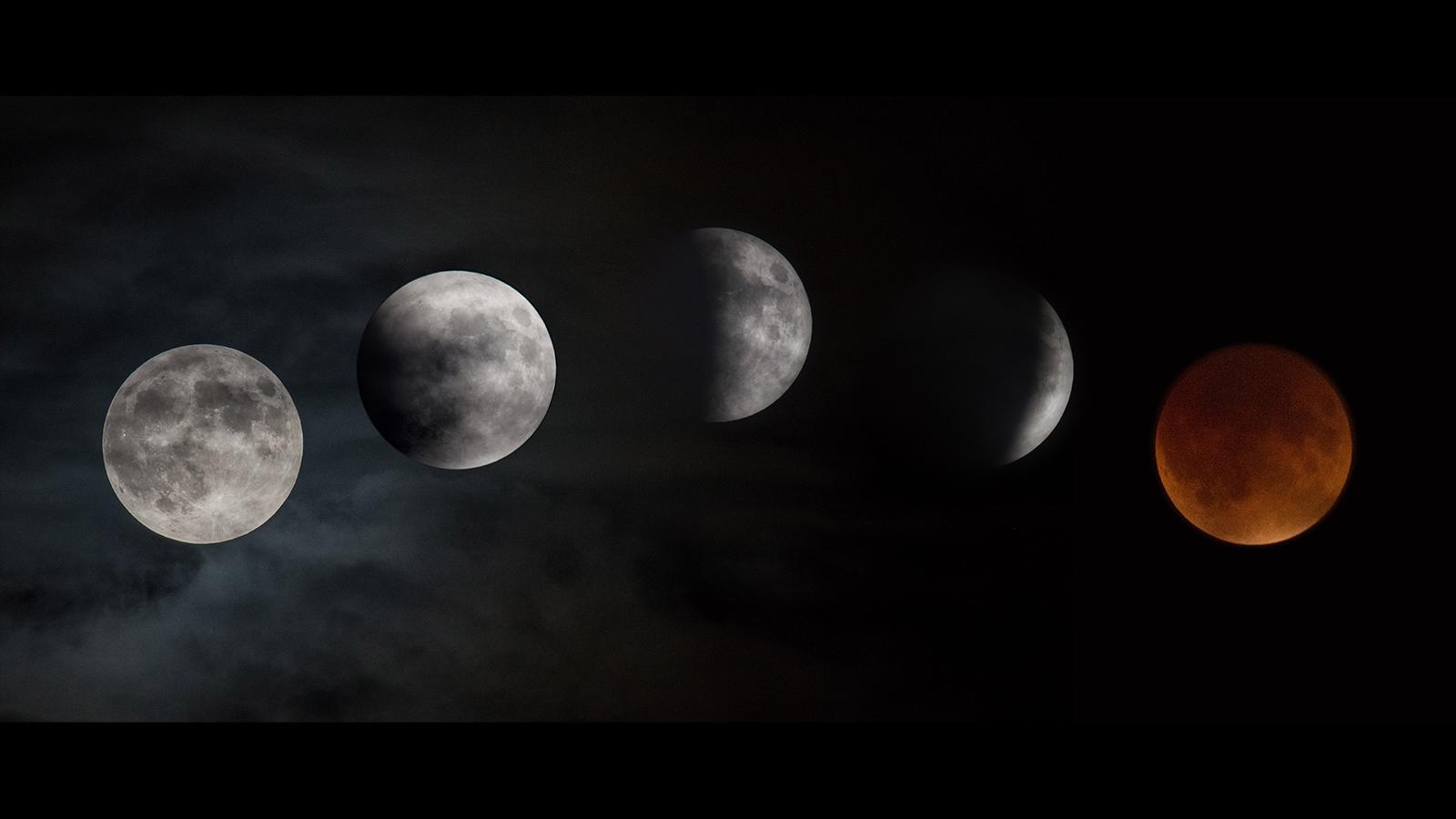 Eclipse Total da Super Lua