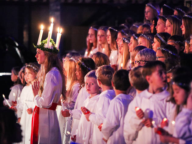 Saint Lucia Day in Sweden