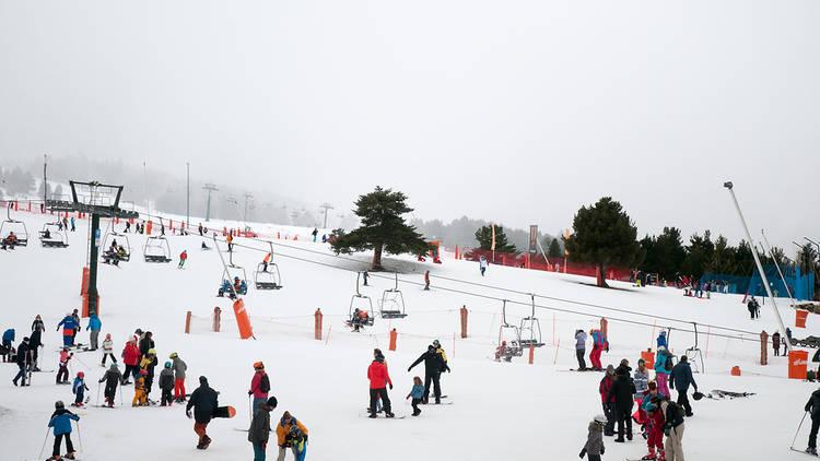 Las pistas catalanas abriran el 14 de diciembre