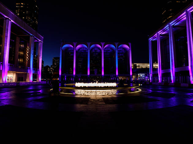 Lights from Lincoln Center