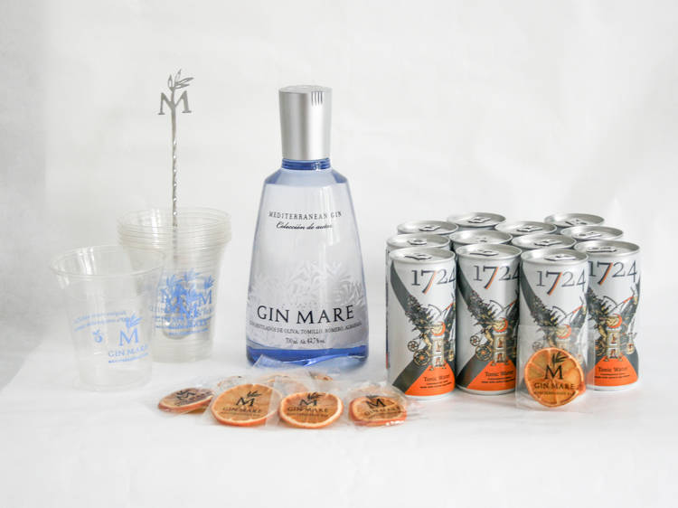 Pack Gin Mare Perfect Mix