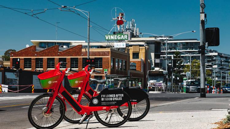 Lime bikes Melbourne e-bikes