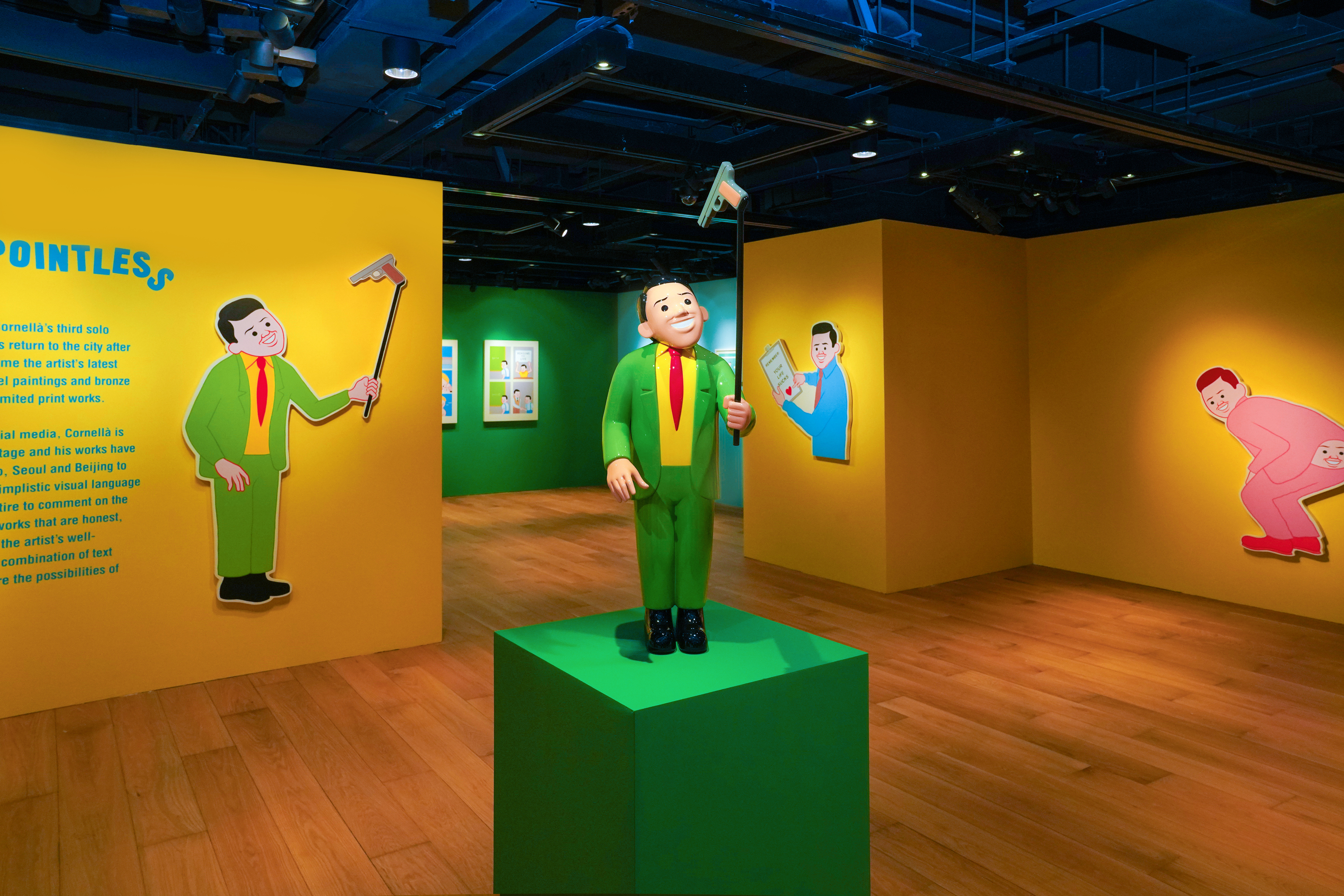 Joan Cornellà returns to Hong Kong with his biggest solo exhibition to date