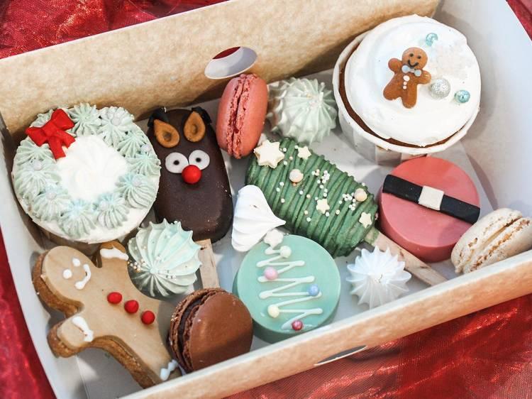 Box de productos de Catering Baci d'Angelo Patîsserie
