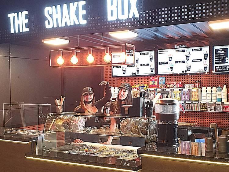 Dos milkshakes y dos frappuccinos de The Shake Box