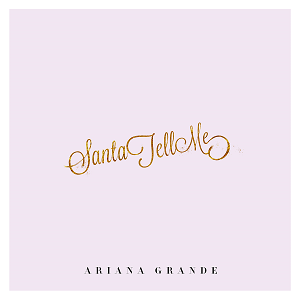 Santa tell me album sleeve
