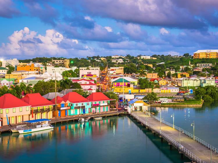Febrero: Antigua (Antigua y Barbuda)