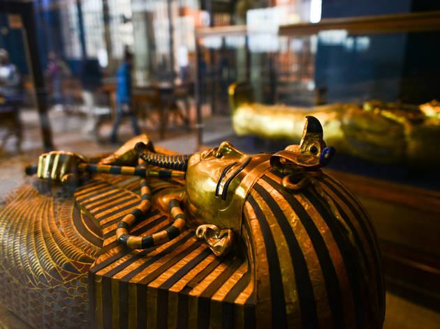 El Cairo. Tutankhamon