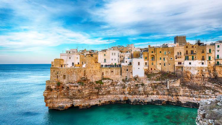 Polignano a Mare. Puglia. Italia