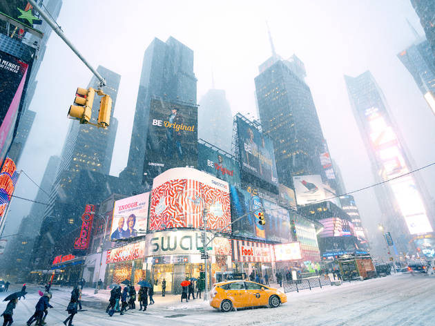 A major snow storm is predicted to hit NYC this week
