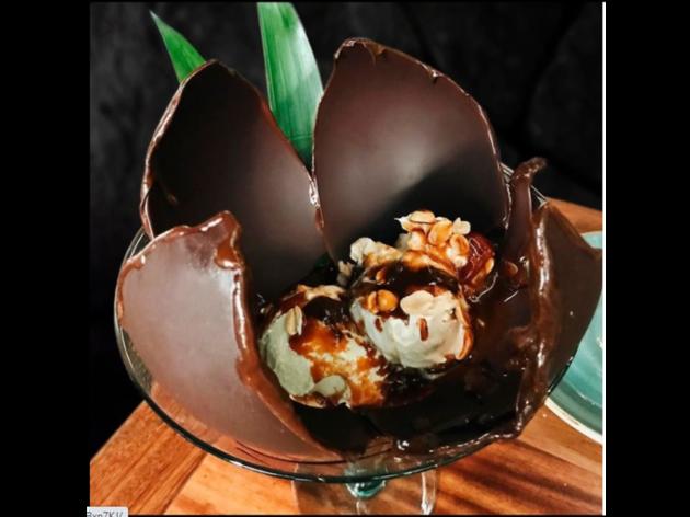Bombas de chocolate Rosa Negra