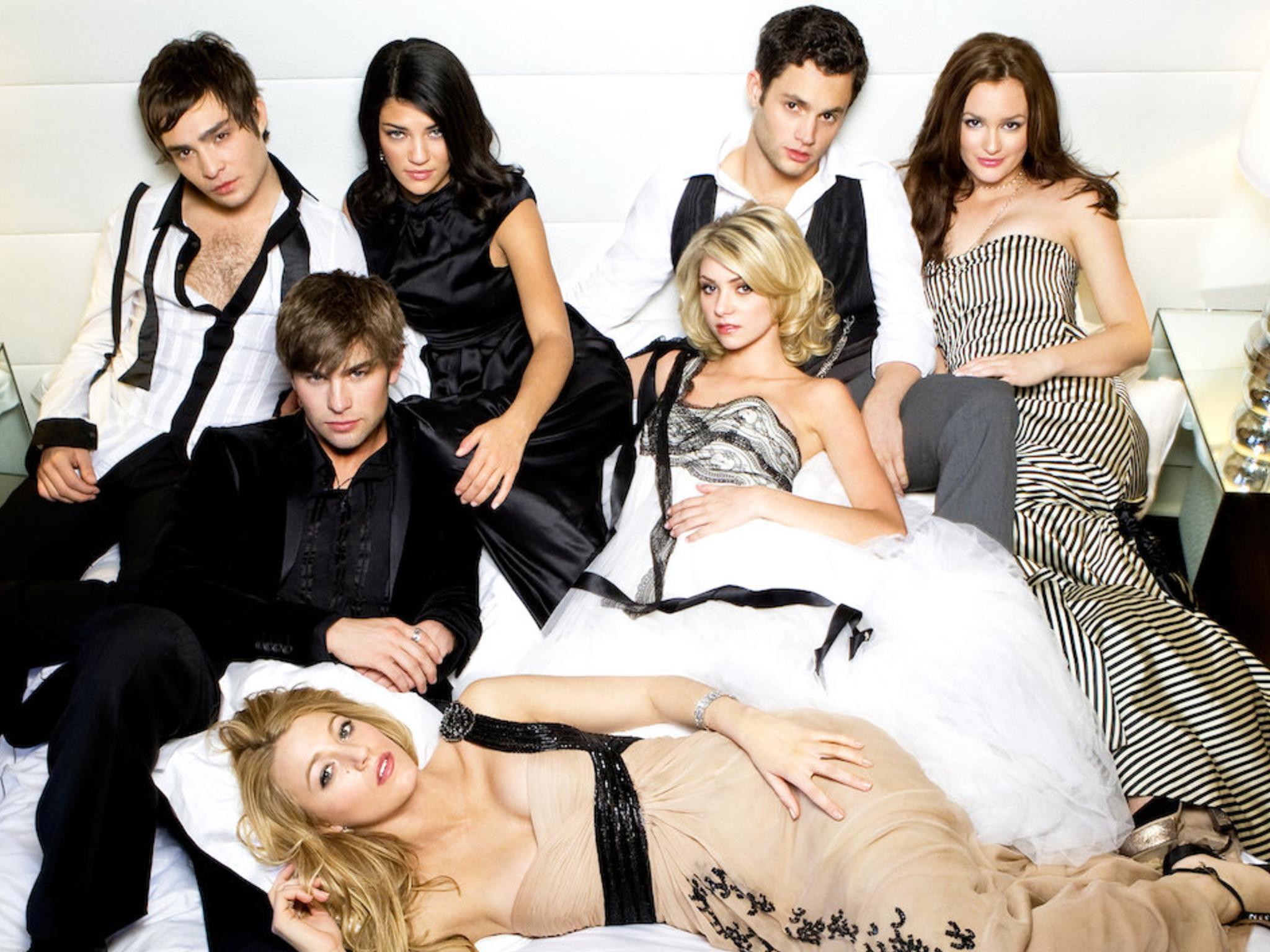 Gossip Girl cast shot including Blake Lively
