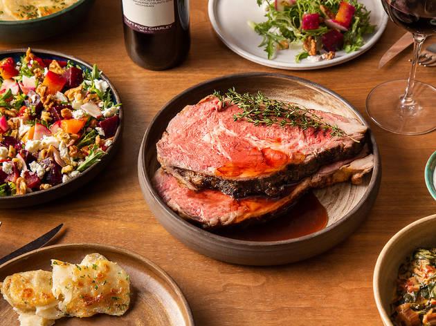 17 restaurants offering Christmas