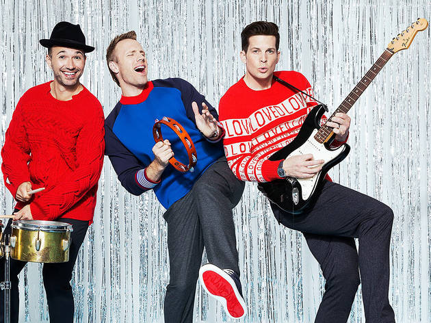 El trío de música pop presenta concierto en streaming navideño