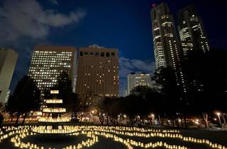 Candle Night@Shinjuku Central Park -灯(ほし)に願いを-