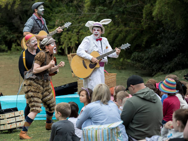 The Wind in the Willows at the Royal Botanic Garden