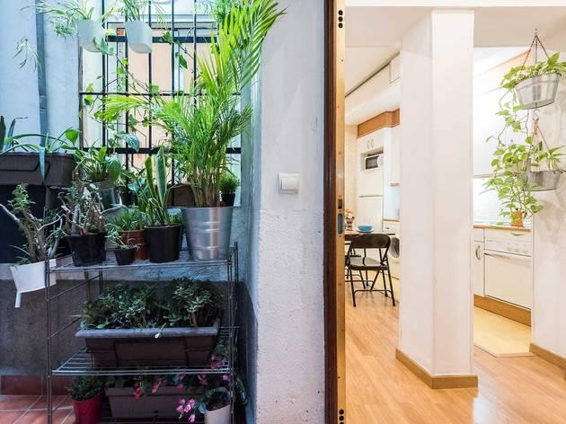 Airbnb madrid, corrala