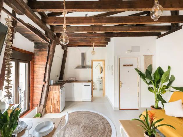 Airbnb madrid, vintage