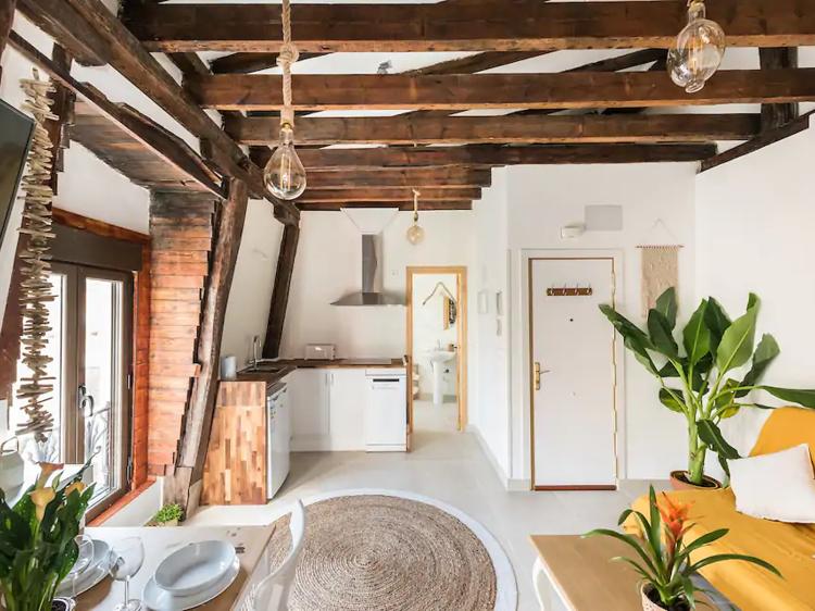 Apartamento rústico vintage